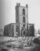 Kiel 1944 - Ruine der Nikolaikirche I