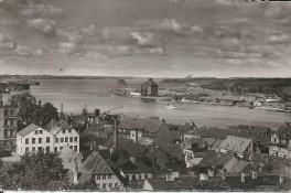 Flensburg - Hafenausfahrt 1957