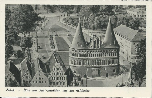 Luebeck - Holstentor 1950