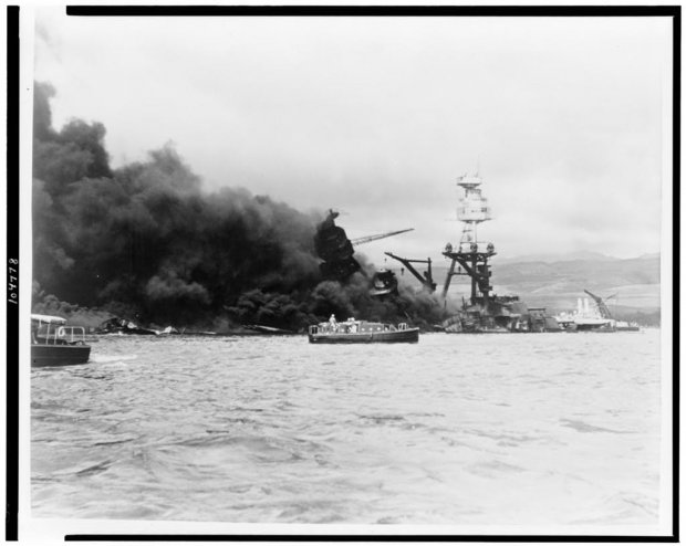 USS Arizona in Pearl Harbor
