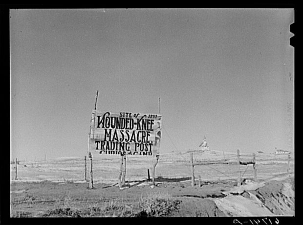 Wounded Knee - Mahnmal
