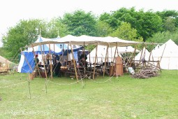Mittelalter - Zelt 1654