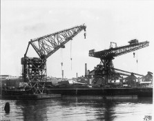 Gaarden - DEMAG-Hafenkran I