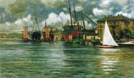 Neumühlen - Howaldtswerke 1907