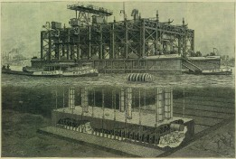 Kieler Hafen - Senkkasten