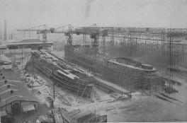 Gaarden - Die Werft 1913