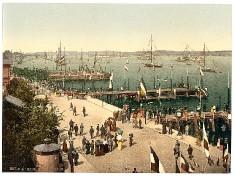 Kieler Hafen 1890