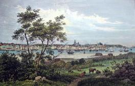 Kiel - Ansicht 1855