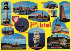 Kiel - Ansichtskarte 1970er