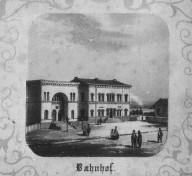 Kiel - Alter Bahnhof 1864