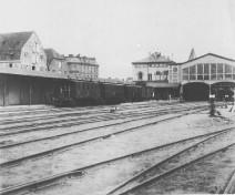 Kiel - Alter Bahnhof 1887
