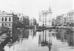 Kiel - Bootshafen 1893