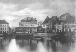 Kiel - Bootshafen 1900