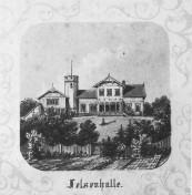 Kiel - Felsenhalle 1864