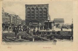 Kiel - Fischerleger 1906