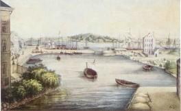 Kiel - Bootshafen 1852