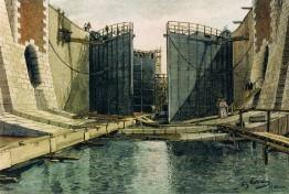 Kiel-Holtenau - Schleusenbau III