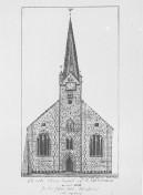Kiel - Nikolaikirche 1880