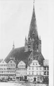 Kiel - Nikolaikirche vor 1874