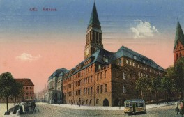 Kiel - Rathaus 1915