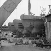 Hamburg 1945 - Unfertige U-Boote