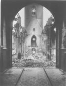 Kiel 1944 - Ruine der Nikolaikirche III