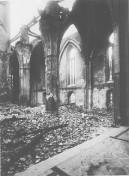 Kiel 1944 - Ruine der Nikolaikirche IV