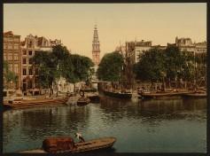 Amsterdam - Groen Burgwal