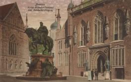 Bremen - Kaiser-Wilhelm-Denkmal