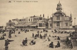Calais - Strand und Casino