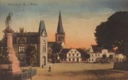 Rügen - Bergen Marktplatz