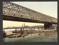Riga - Eisenbahnbrücke