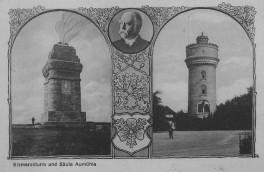 Aumühle - Bismarckturm und Säule