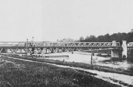 Rendsburg - Kanaldrehbrücke 1895