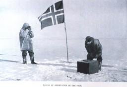 Amundsen am Südpol