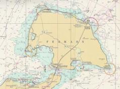 Fehmarn - Seekarte