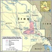 Irak - Wasserkarte