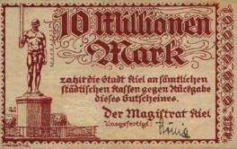 Kiel - 10 Millonen Mark