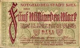 Kiel - 5 Milliarden
