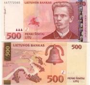Litauen - 500 Litas