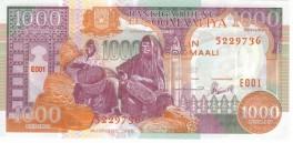 Somalia - 1000 Shillings