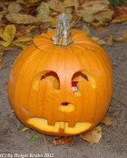 Halloween-Kürbis I