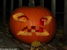 Halloween-Kürbis IV