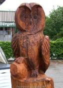 Holz-Uhu