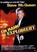 Ein Mann explodiert