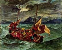 Christus auf dem See Genezareth