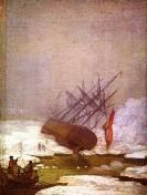 Schiff im Eismeer