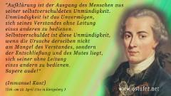 Aufklärung - Kant