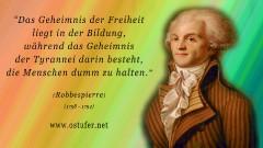 Bildung - Robbespierre