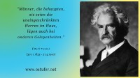 Männer - Mark Twain